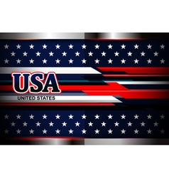 american flag color backgrounds vector image