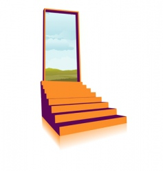 opportunity knocks vector image