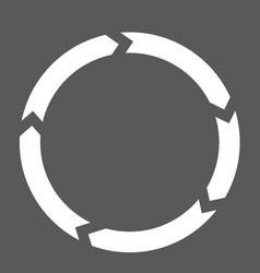 Circulation interface toolbar icon vector