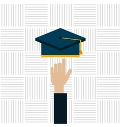 Education online design vector