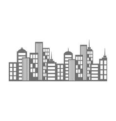 City urban view vector image vector image