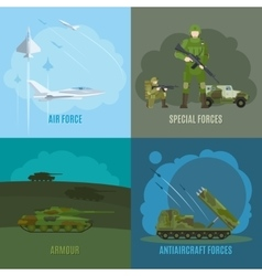 Military and army vector