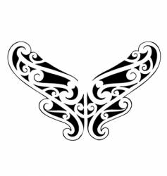 celtic heart symbol vector image