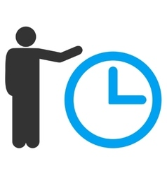 Time show icon vector