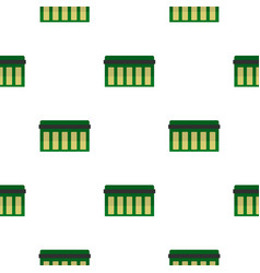 Circuit board technology pattern flat vector