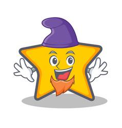 Elf star character cartoon style vector