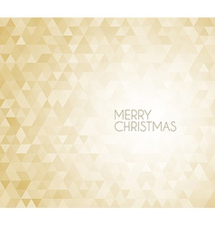 Golden retro christmas background vector