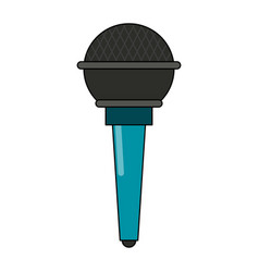 microphone sound device vector image vector image