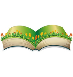 Popup book vector image vector image