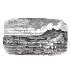 Dover vintage engraving vector