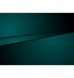 Dark green corporate tech design art vector