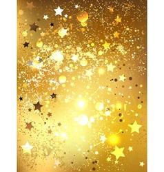 Gold foil vector