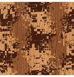 wooden shatter pattern vector image
