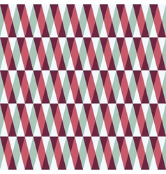 Seamless pattern with stripes and triangles vector
