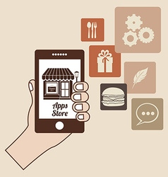 Apps store vector