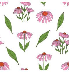 Elegant botanical seamless pattern with gorgeous vector