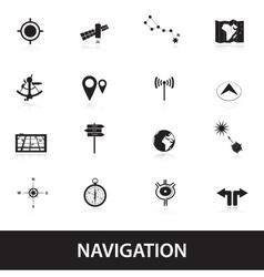Navigation eps10 vector