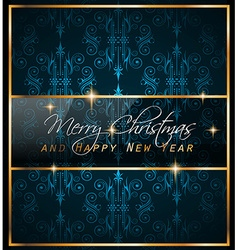 2016 new year and happy christmas background vector