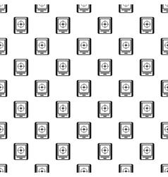 Gps navigator pattern simple style vector