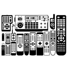 tv remote control vector image