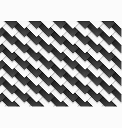 Black and white abstract tech contrast squares vector
