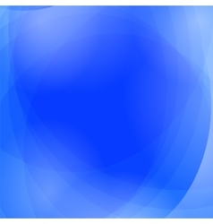 Abstract blue wave background vector