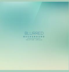 Elegant blue vintage style blurred background vector