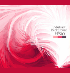 Macro feathers pink white vector