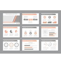 Set of multicolour template for multipurpose vector