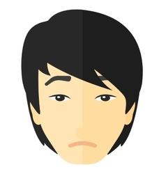 Young depressed man vector