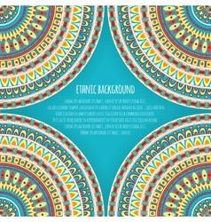 Ethnic patterns for background design vector