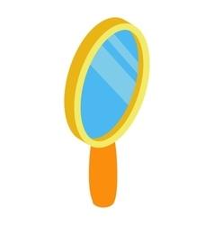 Mirror 3d isometric icon vector