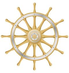 Steering wheel vector image vector image