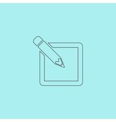 Subscribe icon vector