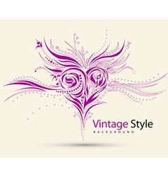 Vintage style vector