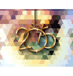 2015 new year original modern background template vector