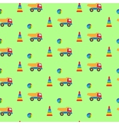 Toys for boys pattern vector