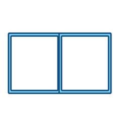 Book open symbol vector