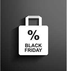 Discount black friday vector