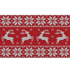 Red christmas jumper vector