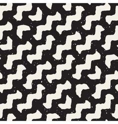 Seamless wavy diagonal lines pattern vector