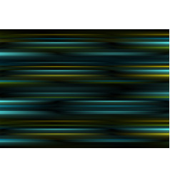 Dark smooth glowing stripes abstract background vector