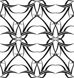 black n white tattoo wallpaper vector image vector image