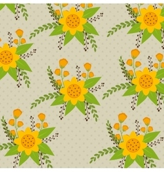 Flowers and floral design vector