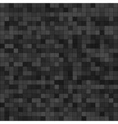 Abstract digital grey pixels seamless pattern vector