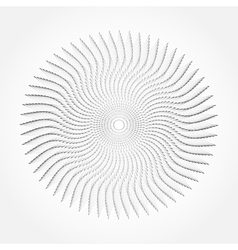 Abstract whirl lines textured background vector