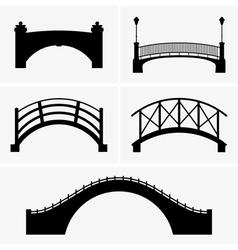 Bridges vector image vector image