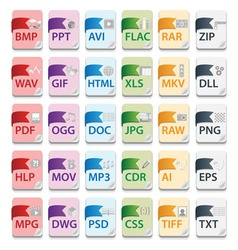 File document icons3 vector