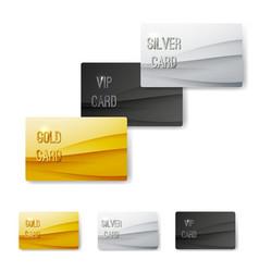 Premium customer member wave pattern card vector
