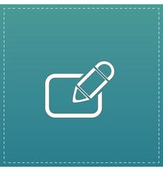 Registration icon vector